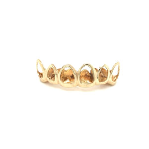 Yellow Gold Open Face