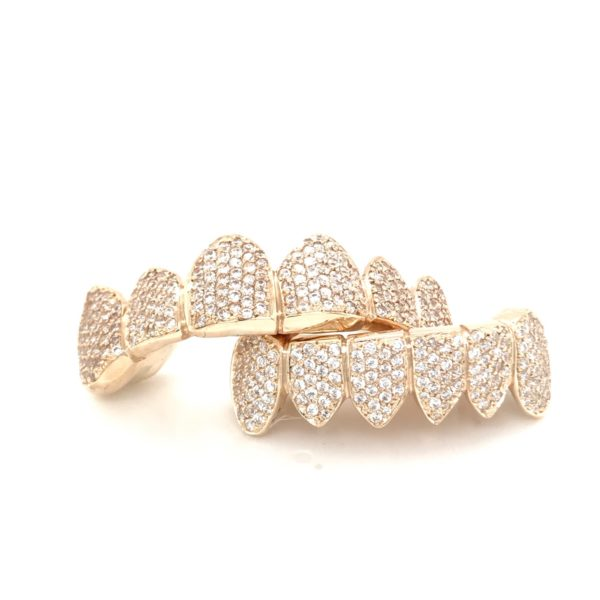 Yellow Gold Diamonds Four-Prong