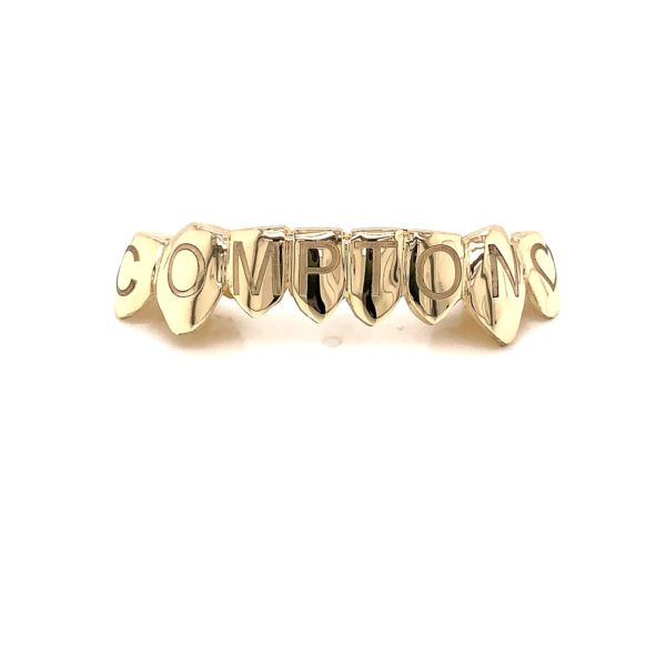 "Yellow Gold Engraved ""COMPTON"""
